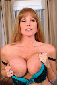 Darla Crane shows off her big tits and sexy body at anilos.com
