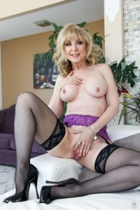 Horny porn MILF porn legend Nina Hartley sucks and fucks at momblowsbest.com