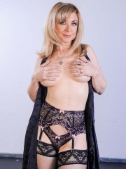 Nina Hartley gets into some three way sex at devilsfilm.com