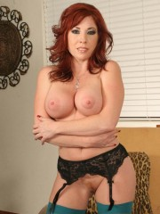 Lovely Brittany O'Connell shows off her sexy MILFs and gets fucked in the ass at freshmilfs.com