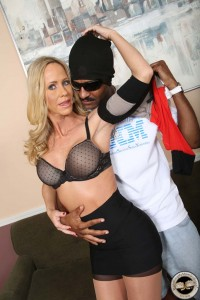 Simone Sonay in the hot mom role at watchingmymomgoblack.com