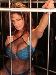 Deauxma gets kinky with her girlfriends Nina Hartley and Sally D'Angelo at nina.com