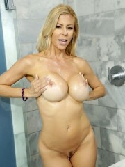 Sexy and sultry Alexis Fawx sucking and fucking a big cock