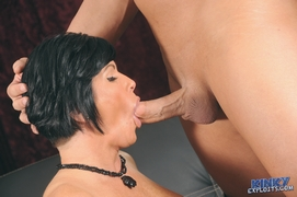 Shay loves big dick in her mouth and pussy