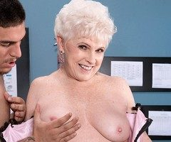 Mature porn star Jewel gets double dicked and loves it