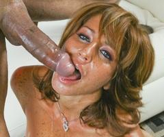 Senior sex slut Tara Holiday takes a big dick fucking