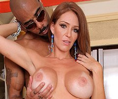 Charlee Chase takes a big black dick fucking at joshstonexxx.com