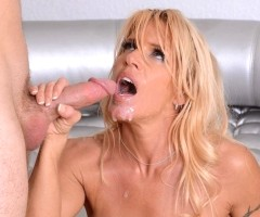 MILF sex star Gina West is horny for hard dick at milfhunter.com