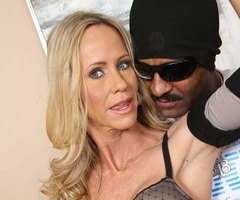 Big black cock is just what Simone Sonay wanted at watchingmymomgoblack.com