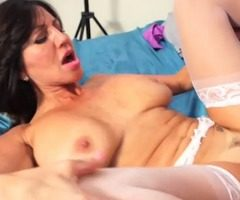Sexy Tara Holiday gets her horny pussy filled with young cock