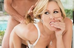 Julia Ann gets fucked by a big cock at brazzers.com