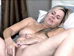 Gorgeous MILF Velvet Skye is the type of woman you'll want to shoot your cum on