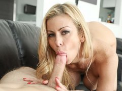 alexis Fawx shows off her sexy and oral sex skills at mommyblowsbest.com