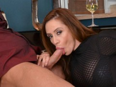 Sucking big dick and getting fucked is all in a days work for gorgeous Ariella Ferrera