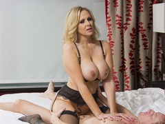 MILF star Julia Ann in the role of high class escort at tonightsgirlfirend.com