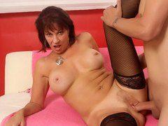 Lusty newcomer Vanessa Videl takes a big dick fucking at goldenslut.com